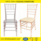 Hot Sell Acrílico Resina Plastic Wedding Rental Chiavari Chair