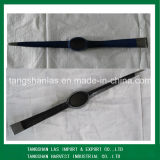 Pickaxe Cultivo Herramientas manuales de acero Pick Head y Mattock P401