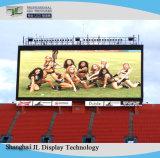 Scène extérieure du Conseil de l'écran LED couleur pleine P8 la pendaison de location d'affichage à LED