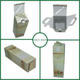 Frascos de vidro impressos costume que embalam a caixa da caixa