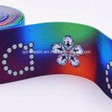 속바지 허리띠를 위한 40mm 열 이동에 의하여 인쇄되는 고무줄