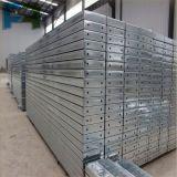 Plataforma de aço galvanizada alta qualidade da prancha/metal para o andaime