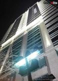 크리 말 Meanwell 130lm/W 100-277VAC IP67 400W 외부 건물 점화를 위한 투광램프 400 와트 LED