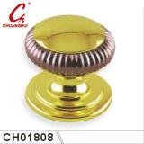 金によってめっきされるドアハンドルのノブ(CH01018)