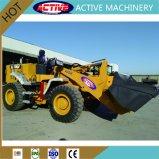 Marca ACTIVA 3ton cargadora de ruedas con motor Cummins para la venta