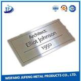 Soem-Stahl/Aluminium, welches das Stempeln von Markplate/von Metallmarke/von Namensschild dreht