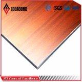 Взгляда вишни Ideabond панель красного деревянного алюминиевая декоративная