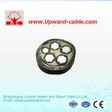 Aluminium/câble à haute tension isolé par XLPE de cuivre de conducteur