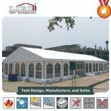 装飾が付いているボツワナの500人党のための15X40mのテント