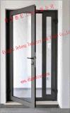 Janela de correr/Casement Janela de PVC com vidro temperado