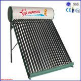 2016 New Compact no presión calentador de agua solar