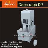 Boway 30 veces/esquina 50m m de papel eléctrica de los dados del minuto 7 que redondea la cortadora del cortador D-7