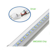 Single y Doble cara de t8 23W 150cm Tubo de luz LED