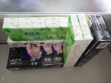 Papel Tissue bolsillo 10 en 1 bolsa de la máquina de embalaje