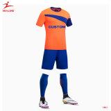 Изготовленный на заказ форма футбола рубашки износа спорта сублимации Джерси футбола