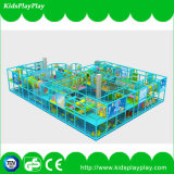 Campo de jogos interno comercial das crianças atrativas novas do tema do oceano