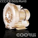 de driefasen 1HP Ventilators van de 0.7kwRing voor de Verluchting van het Water van het Afval
