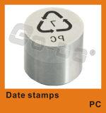 Moldes portáteis dos fabricantes da máquina de selo do tempo da tâmara de Digitas
