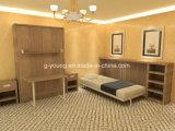 Настраиваемые деревянной мебелью с одной спальней кровать Мерфи
