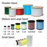 Personalizar o grosso da Série 15 monofilamento de nylon de alta tensão de ruptura da linha de pesca