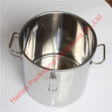 Balde de sopa de aço inoxidável durável com anel de vedação de qualidade alimentar
