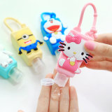 Promotion de la Chine en gros 29 ml Cartoon Silicone Hand Sanitizer Porte-bouteille