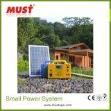 30W portátil Kit Solar Power System para la Iluminación para el hogar