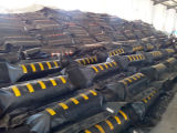 Boom del petrolio di gomma, boom del petrolio arancione del PVC