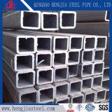 P345c galvanizado en caliente de tubo de acero cuadrado