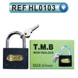 Cadeado de bronze do aço inoxidável do cadeado do cadeado do ferro cinzento (HL0103)