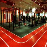 Крытый спортивный зал и ПВХ резиновые спортивные полы