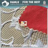 Полиэстер Bud шелковые ткани клеевые искусственная кожа ткань