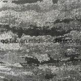 Горячей ткань жаккарда сбывания покрашенная пряжей черная (QF16-2512)