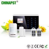 L'alarme de maison GSM sans fil et 2 wired Zones les plus chaudes (PST-PG992TQ)