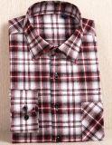 Les hommes d'armure sergé chemises plaid de teinture de fils