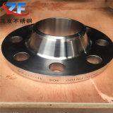 Bride de l'acier inoxydable Ss304/Ss316/Ss321 rf d'ASTM