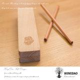 Hongdao hecho personalizado Caja de madera para la vajilla_D
