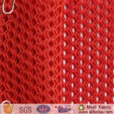 A1743 Oeko-Tex를 가진 의복 직물을%s 100%년 폴리에스테 포장에 의하여 뜨개질을 하는 메시 직물