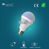 Mejor diseño inteligente recargable LED Lámpara de luz de lámpara 5W/7W/9W E27b22