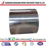 Lo zinco ha ricoperto la bobina d'acciaio di Gi 40G/M2~275G/M2 usata per i comitati di parete