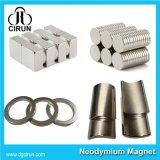 Zeldzame aarde van de Fabrikant van China sinterde de Super Sterke Hoogwaardige de Permanente Speciale Magneet van de Motor/Magneet NdFeB/de Magneet van het Neodymium