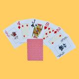 O casino carda cartões de jogo plásticos