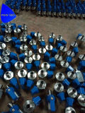 Клапан-Mxm NPT Pn63 шарика нержавеющей стали 316 миниый