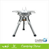 Gas Camping Stove con Large Pot Support e Stable Legs
