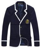 고품질 아프리카 아이들 소년 및 Grils를 위해 획일한 주문을 받아서 만들어진 모직 폴리에스테 학교 블레이저 코트