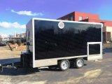2018 Equipamentos de cozinha para veículo alimentar Carrinho quiosque móvel