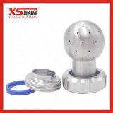 Bocal de pulverizador de estática higiênico do aço inoxidável com conjunto da união