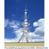 GSM van Pool van het Staal van de telecommunicatie Communicatie Toren met Galvanisatie