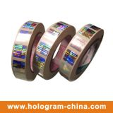 Sellado caliente de la hoja holograma de encargo 3D de la Anti-Falsificación del 2.o