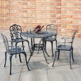 鋳造アルミの屋外の家具の余暇の表およびChiars